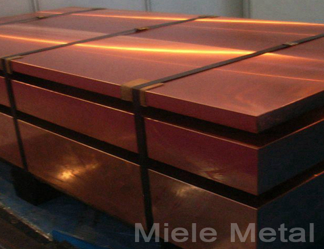 TP1 TP2 99.9 percent copper sheet