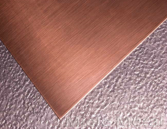 T1 T2 T3 grade copper sheet