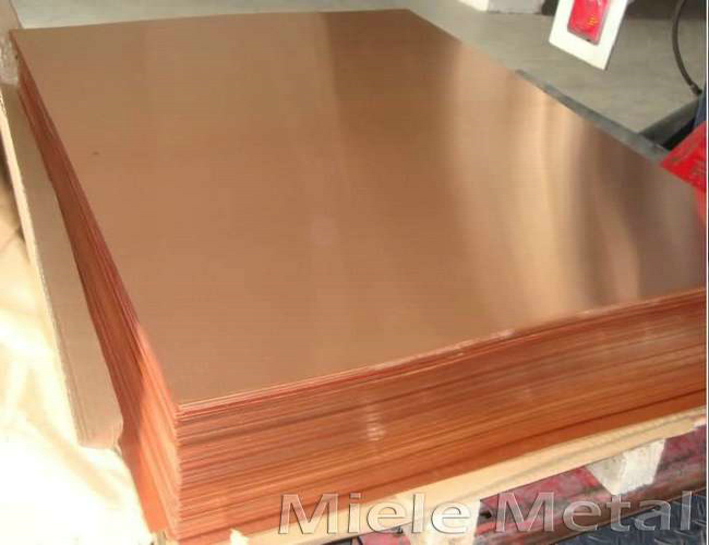 TU2 99.95 percent copper sheet
