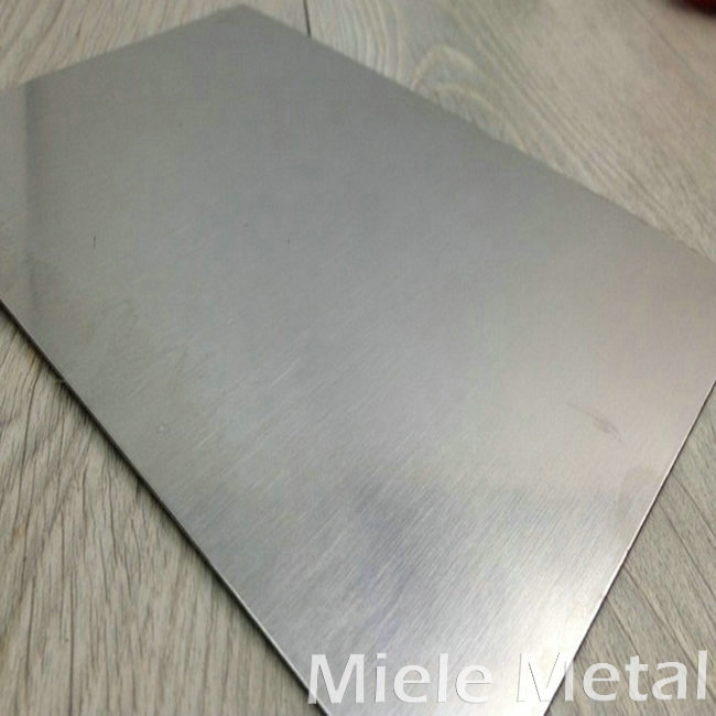 Stainless steel plate continued small rise